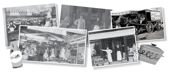 Stong's Grocery Store History