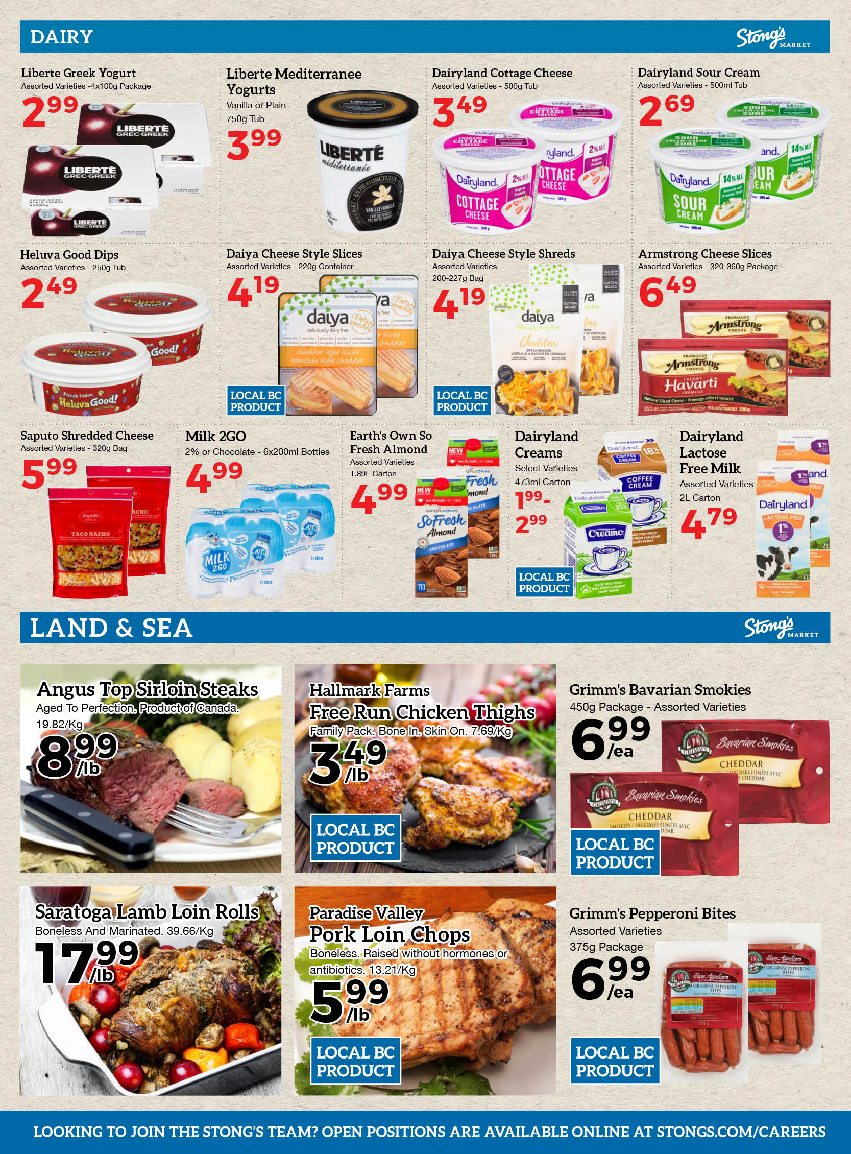 Weekly Flyer | Online Grocery Shopping | Stong's Market