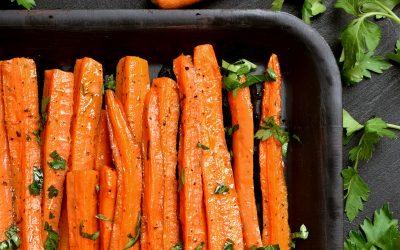 Roasted Napoli Carrots with Pemberton Haven Honey & Macrona Almonds – Pemberton Farms